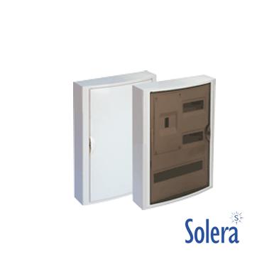 Caja Distribución Superficie Serie Arelos 30 Elementos + 4 Precintables Solera