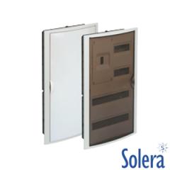Caja Distribución Empotrar Serie Arelos 4+40 Elementos Solera