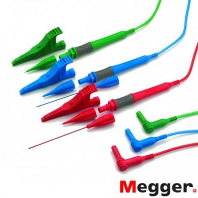 Juego de Cables ROJO-VERDE-AZUL con Puntas Largas Rojas-Azules Sin Fusible