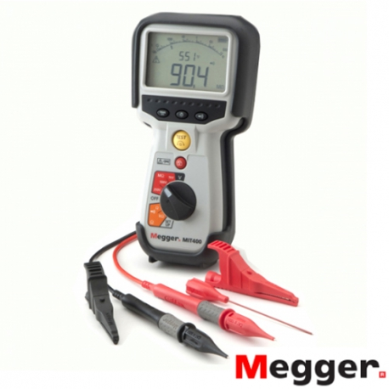 Medidor de Aislamiento y Continuidad 250/500/1000V V MIT400/2