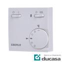 Termostato de Ambiente con 2 Interruptores: Estándar + Resistencia de Apoyo RTR-E 6181
