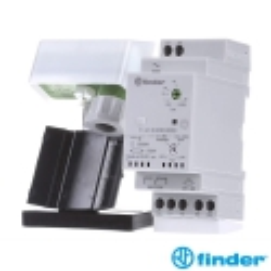 Interruptor Crepuscular 1 Conmutado 16 A Finder 11.41 + Fotosensor