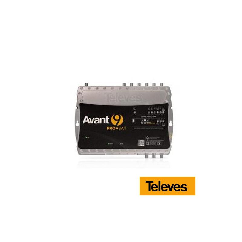 Amplificador Programable 10 filtros 7E/2S Avant9 Pro SAT (FM-VHF-MATV-UHF-UHF-UHF-FI)