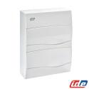 Caja de distribución en superficie 24 Módulos IP40 BV24PO IDE