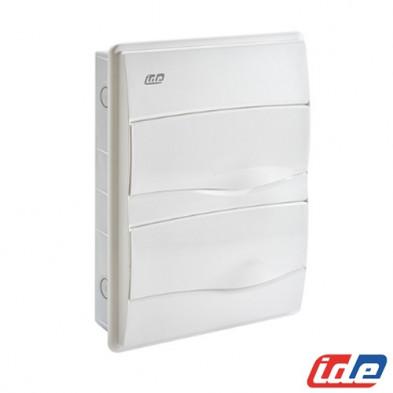 Caja de distribución de empotrar 24 Módulos IP40 BM24PO/RR IDE