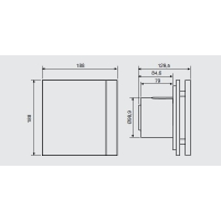 Extractor Silent-100 CZ Design S&P