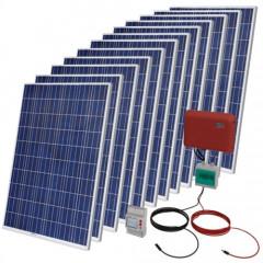 Kit Solar Autoconsumo Fotovoltaico 3000 WP + Instalación + Legalización + Registro + Armario Protecciones
