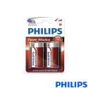 Pila Alkalina Philips LR20 (D) Blister 2