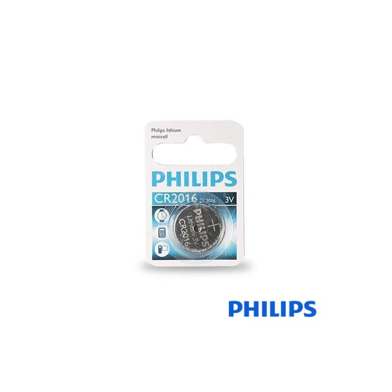 Pila Lithium Philips CR2016 Blister1