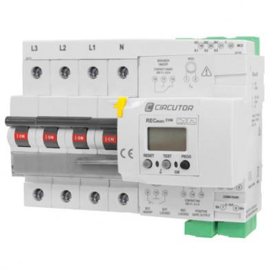 Protección Diferencial con Reconexión Automático y Medida Circutor 4P Curva C 40A
