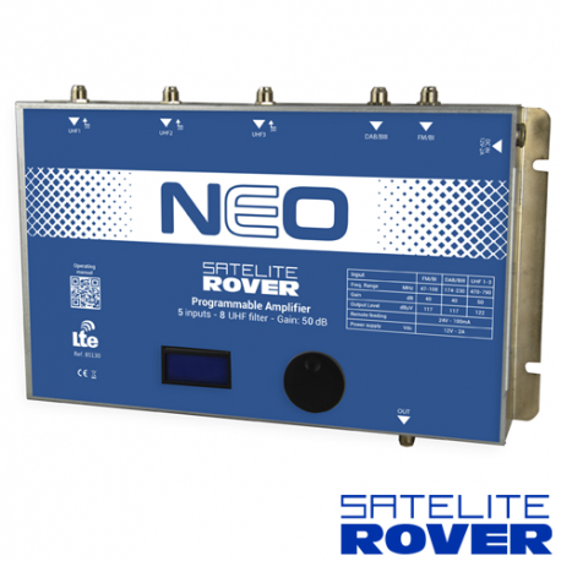 Central Programable NEO Satelite Rover 85130