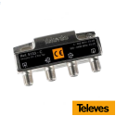 Derivador 2 salidas 23 dB tipo C Conectores F