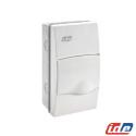 Caja de distribución de empotrar 4 módulos IP40