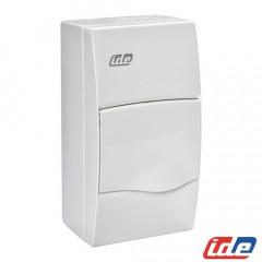 Caja de distribución de superficie 4 módulos IP40