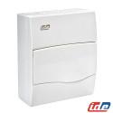 Caja de distribución de superficie 8 módulos IP40