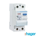 Interruptor Diferencial 2P 40A 30mA TIPO AC Hager CDC728M