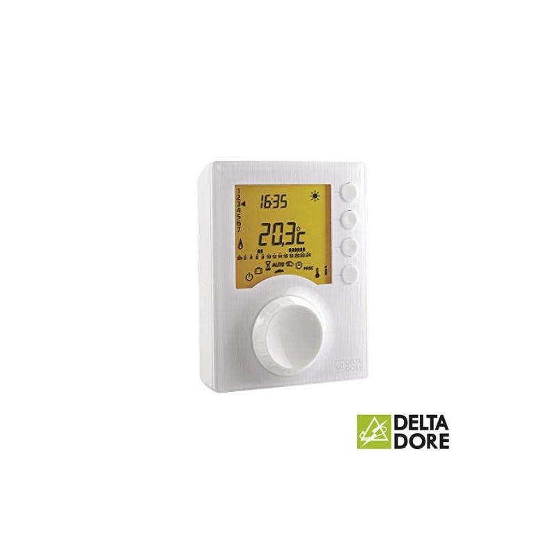 Termostato programable filar para climatización Tybox 417