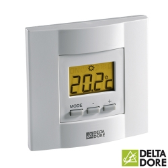 Termostato de Ambiente Tybox 51 con teclas para Climatización