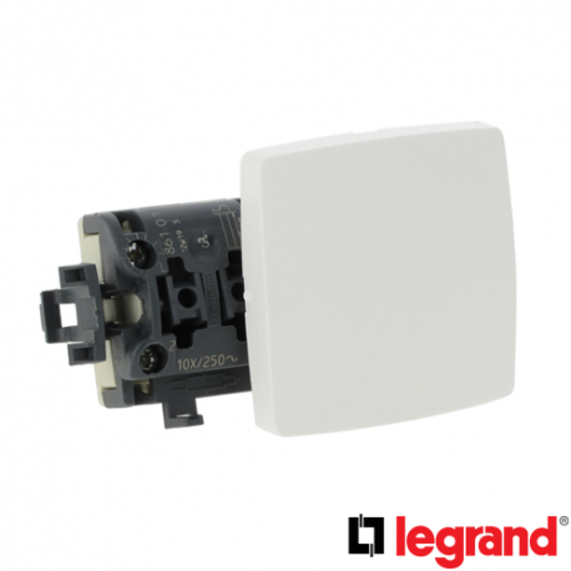 Interruptor Cruzamiento Serie Legrand Oteo 086104