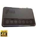 Receptor Satélite Iris 1800 4K Android