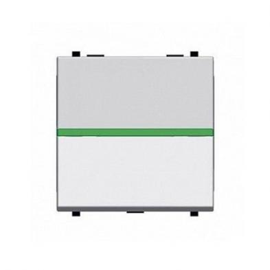 Interruptor Monopolar con Piloto 2 Modulos Niessen Zenit