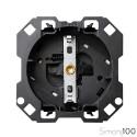 Base de enchufe schuko 16 A 250V~ con cargador USB 2.0 5 V/DC Tipo A hembra