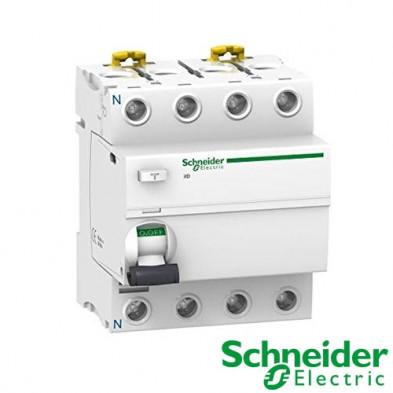 Interruptor diferencial iID 4P 25A 30mA Clase A SI A9R61425