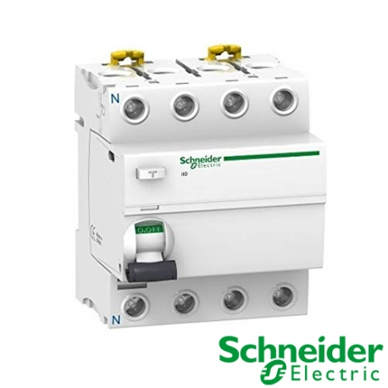 Interruptor diferencial iID 4P 40A 30mA Clase A SI A9R61440