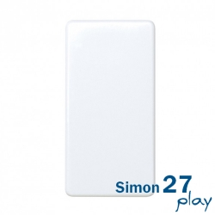 Interruptor Unipolar Estrecho Simon 27 Play 27101-64