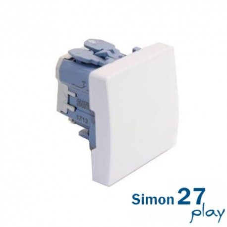 Pulsador Neutro Simon 27 Play 27659-65