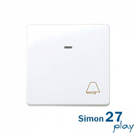 Pulsador Campana Luminoso Simon 27 Play 27160-65