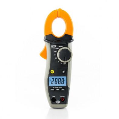 HT9012 Pinza amperimétrica profesional CA 600A CATIV