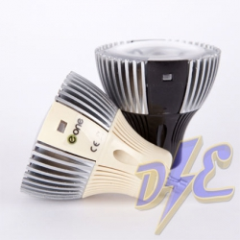 Bombilla LED dicroica 4W GU10 fría