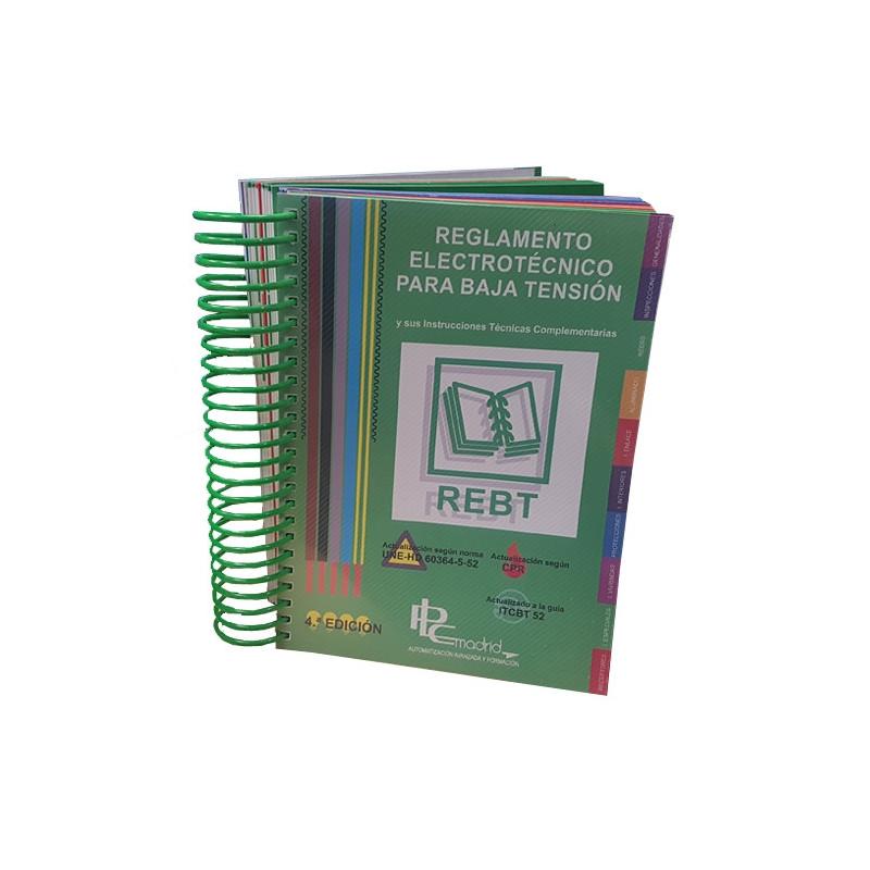 Reglamento Electrotécnico de Baja Tensión Actualizado (REBT)