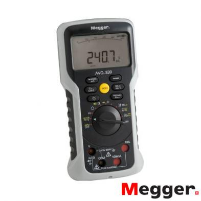 Multímetro TRMS AVO830 Megger