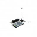 Sintonizador TDT USB 2.0 para PC + MANDO DUAL