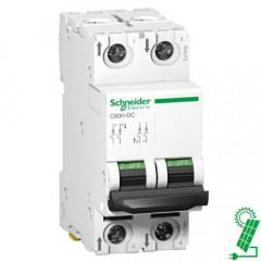 Interruptor automático especial de CC C60H 500 V 2P 10 A Curva C