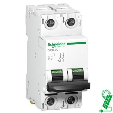 Interruptor Automático 10A de CC C60H 500 V 2P Curva C