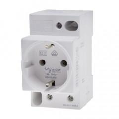 Toma de corriente modular iPC 16 A 250 V 2 P+T