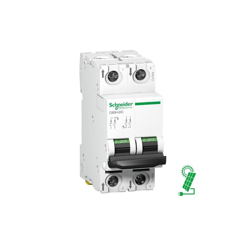 Interruptor Automático 40A de CC C60H 500 V 2P Curva C