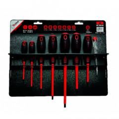 Kit de 7 destornilladores aislados 1000 V + 1 buscapolo