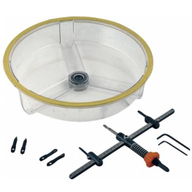 Corona Perforadora Multidiametro 48-305 mm con recoge polvo