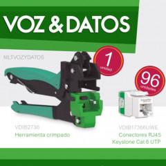 Kit Ahorro Voz&Datos Schneider Electric