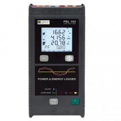 Registrador de potencia y energía PEL103