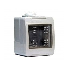 Caja Estanca IP55 P/2 MODULOS