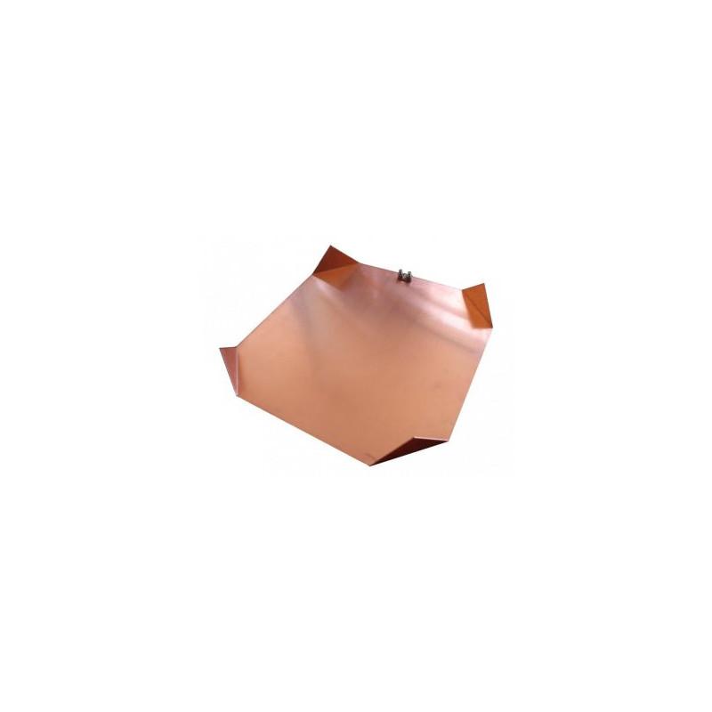 PLACA TOMA DE TIERRA 50X50mm