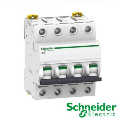 Interruptor automático magnetotérmico trifásico iC60N 4P 32A Curva C A9F79432