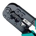 Crimpadora CONECTORES RJ-11/12 Y RJ-45 Modelo 808-376H de Pro'sKit
