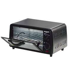 Mini horno tostador 9 litros Turin Black