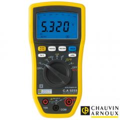 Multímetro Digital TRMS 6000 Cuentas Chauvin Arnoux 5233